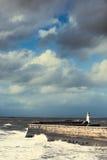 Latarnia morska Przy Whitehaven Zdjęcia Royalty Free