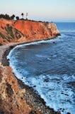 Latarnia morska przy zmierzchem Obraz Royalty Free