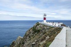 Latarnia morska przylądek Ortegal zdjęcie royalty free