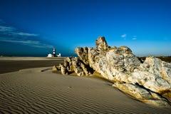 Latarnia morska Przylądek Recife Południowa Afryka/ Obrazy Stock