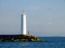 latarnia morska romantyczna Obrazy Royalty Free