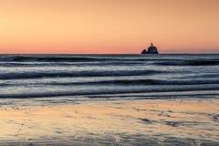latarnia morska samotna Zdjęcie Stock