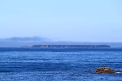 latarnia morska samotna Fotografia Royalty Free