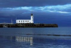 latarnia morska Scarborough Fotografia Royalty Free