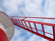 latarnia morska schody fotografia stock