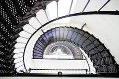 Latarnia morska schody iść up Fotografia Stock