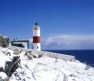latarnia morska Scotland Zdjęcia Stock