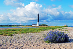 Latarnia morska Sorve w Estonia Obraz Royalty Free