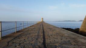 Latarnia morska spacer zdjęcie stock