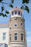 latarnia morska stylowy budynek w Mackinaw mieście Michigan Zdjęcia Royalty Free