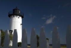 latarnia morska szafot zachodnia fotografia stock