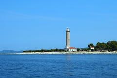 Latarnia morska Veli Chorwacja zdjęcie stock