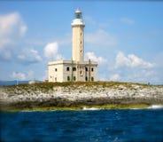 Latarnia morska Vieste Fotografia Royalty Free