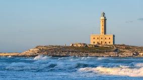 Latarnia morska Vieste obraz royalty free