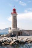 Latarnia morska w świętym Tropez Obraz Royalty Free