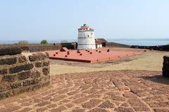 Latarnia morska w Aguada forcie Zdjęcie Stock