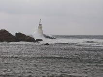 Latarnia morska w Ahtopol Fotografia Royalty Free