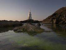 Latarnia morska w Ahtopol Obraz Stock