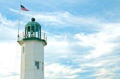 Latarnia morska w America, usa Obrazy Stock