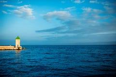 Latarnia morska w Bol mieście, Chorwacja Obrazy Stock