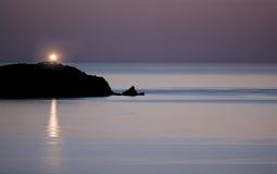 Latarnia morska w Calvi Obraz Royalty Free