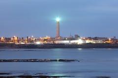 Latarnia morska w Casablanca fotografia stock