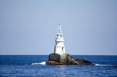 Latarnia morska w Czarnym morzu Fotografia Royalty Free