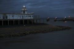 Latarnia morska w Edynburg Fotografia Royalty Free
