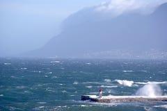 Latarnia morska w KalkBay CapeTown, Południowa Afryka Obraz Stock