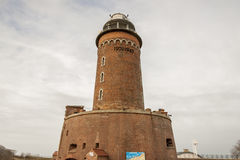 Latarnia morska w Kolobrzeg, Polska -. Fotografia Royalty Free