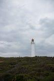 Latarnia morska w krajobrazie Zdjęcia Royalty Free
