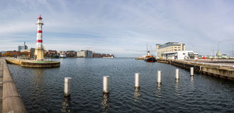 Latarnia morska w Malmo Obrazy Stock