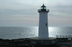 latarnia morska w Portsmouth schronienia Zdjęcie Stock