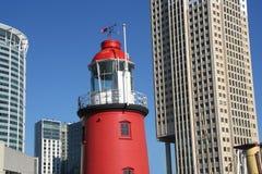 latarnia morska w rotterdamie miejskie Obraz Royalty Free