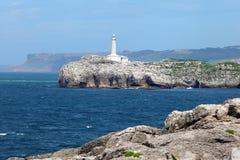 Latarnia morska w Santander, Cantabria, Hiszpania Fotografia Stock