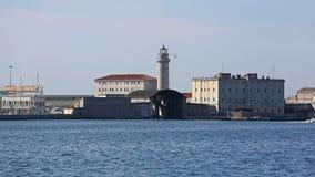Latarnia morska w Trieste Zdjęcie Royalty Free