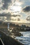 Latarnia morska w Wollongong Australia zdjęcie stock