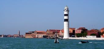 latarnia morska Wenecji Zdjęcia Stock