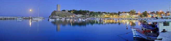 latarnia morska widok panoramiczny basztowy Obraz Stock