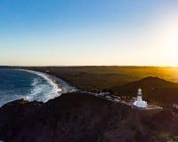 Latarnia morska widok zachodni fotografia royalty free