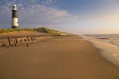 latarnia morska wschód słońca Obraz Royalty Free