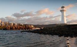 latarnia morska wschód słońca Wollongong Fotografia Royalty Free