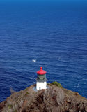 latarnia morska wyspy Obraz Stock