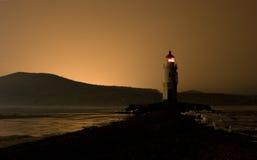 latarnia morska zmierzch Zdjęcia Stock
