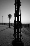 Latarnia uliczna noir Zdjęcie Royalty Free