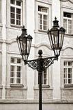 Latarnia uliczna w Praga Zdjęcia Stock