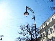 Latarnia uliczna w St Petersburg Rosja Fotografia Royalty Free