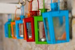 latarnie kolorowych Zdjęcie Royalty Free