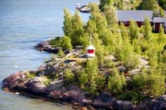 Latarnie morskie w morzu bałtyckim Fotografia Royalty Free