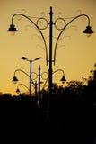 Latarnie uliczne Fotografia Royalty Free